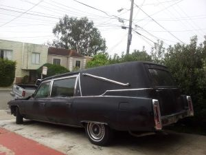 '74 hearse