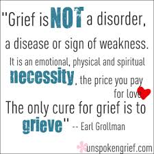 grief is not