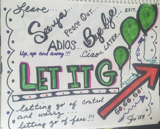 let it go doodle